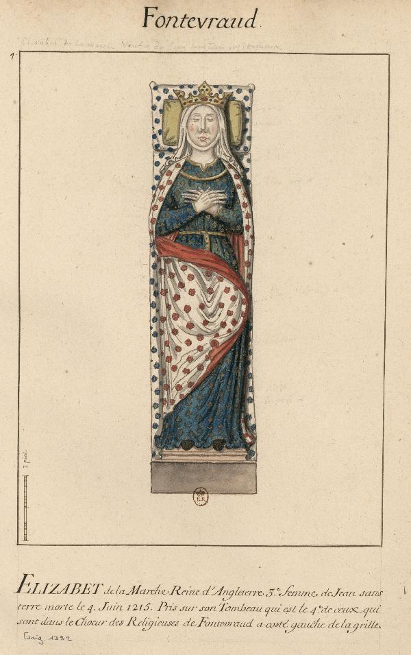 Isabel la su esposade Lackland John de Marcha qSMVUzpG